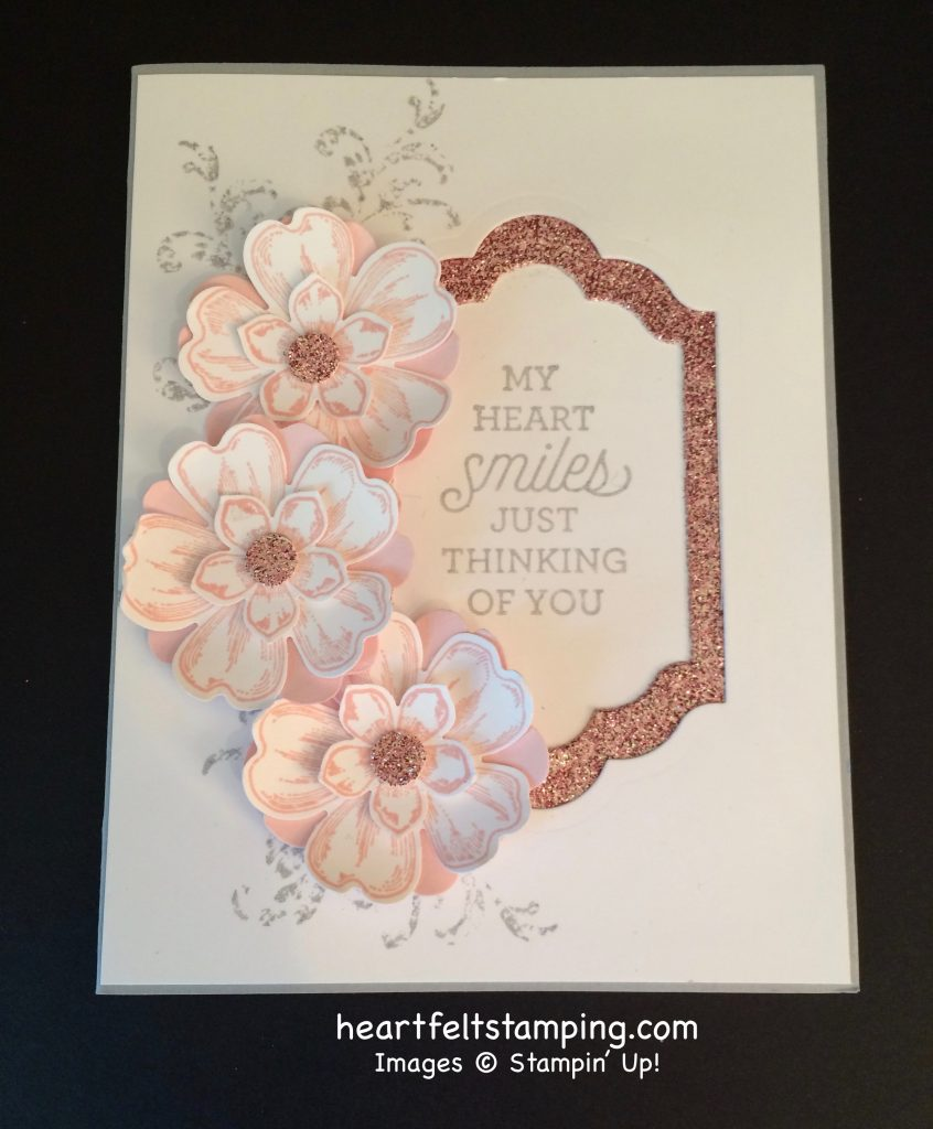 Stampin Up Flower Shop Friendship cards idea - Rosanne Mulhern stampinup