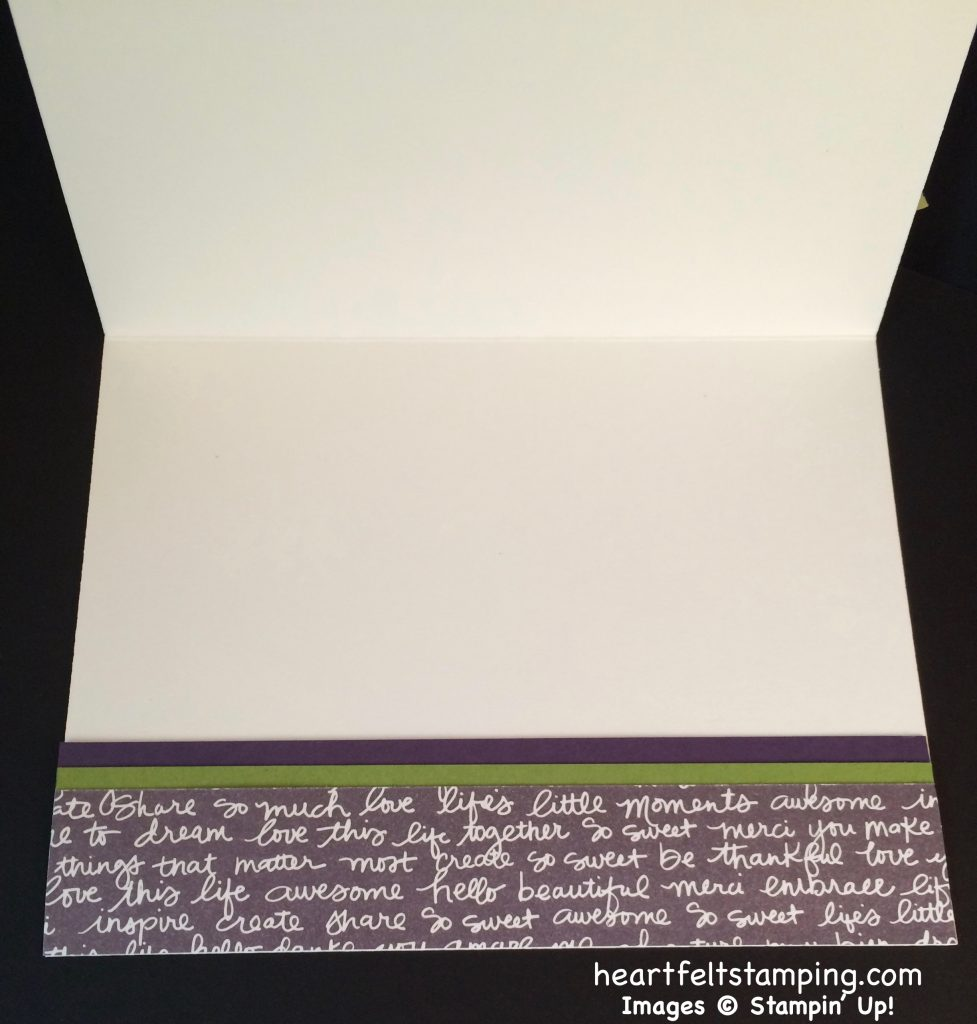 Stampin Up Swirly Scribbles notecard idea - Rosanne Mulhern stampin up