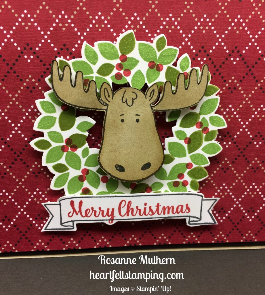 Stampin Up Jolly Friends Christmas cards idea - Rosanne Mulhern stampinup
