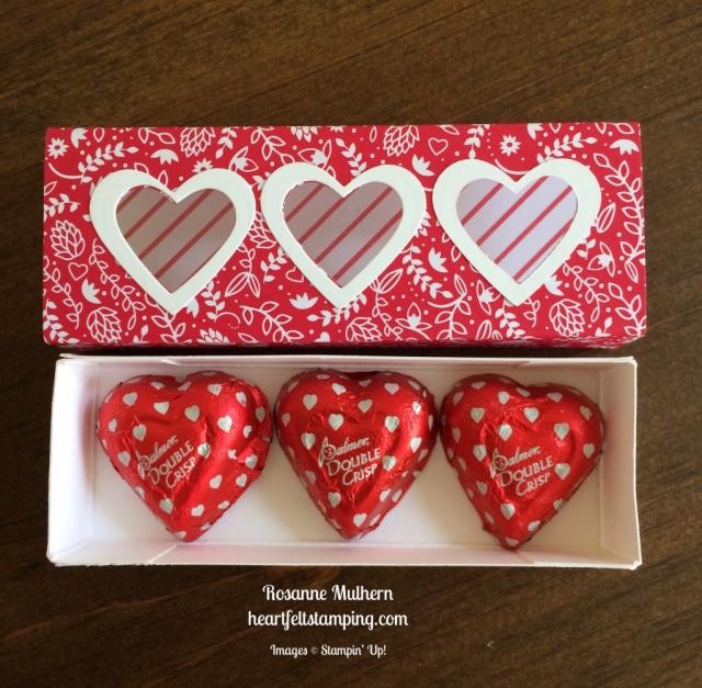 Stampin up Sending Love Valentine - Rosanne Mulhern stampinup