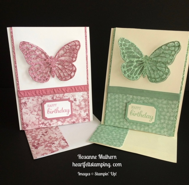 Stampin Up Butterfly Birthday - Rosanne Mulhern stampinup