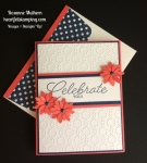 Stampin Up Birthday Blast Birthday Card - Rosanne Mulhern