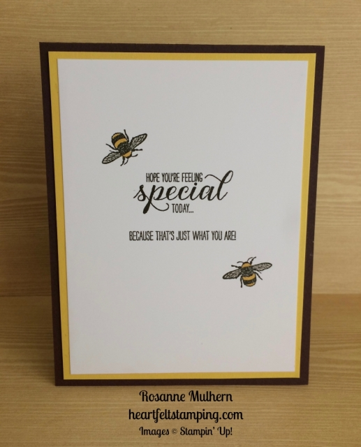 Stampin Up Eastern Palace Sunflower Love and Friendship Cards Idea - Rosanne Mulhern
