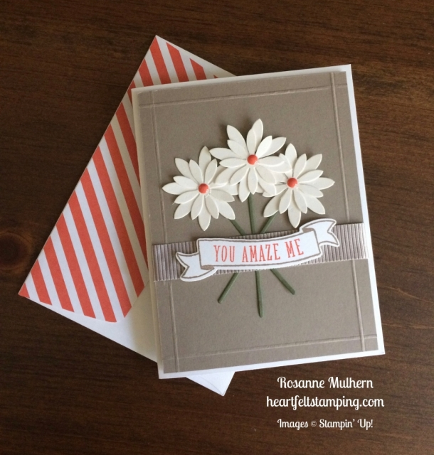 Stampin Up Succulents Just Because Card - Rosanne Mulhern stampinup