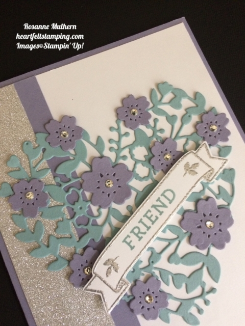Stampin Up Bloomin Love Birthday Card Idea - Rosanne Mulhern