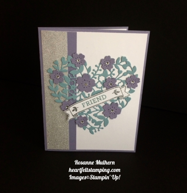 Stampin Up Bloomin' Love Birthday Card - Rosanne Mulhern