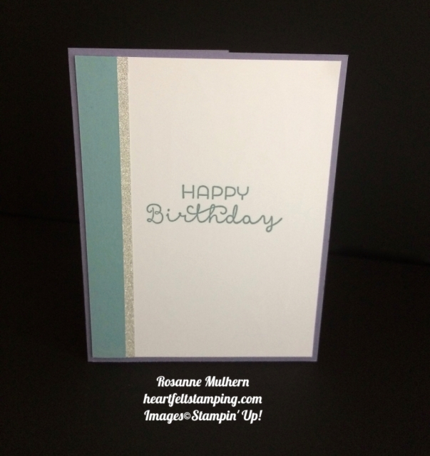 Stampin Up Bloomin Love Birthday Cards Idea - Rosanne Mulhern