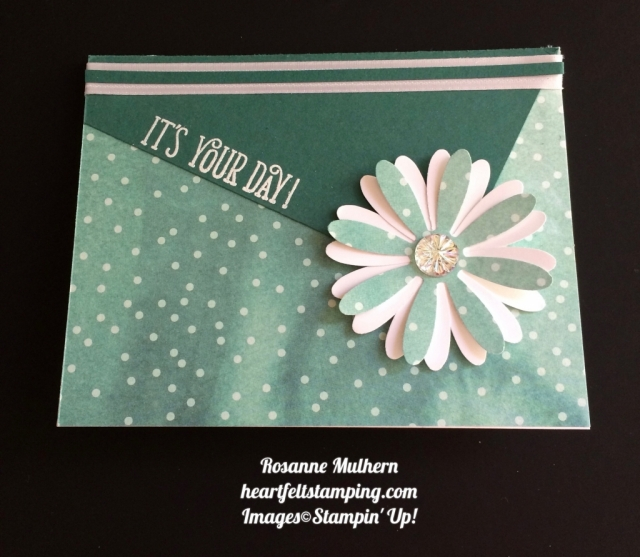 Stampin Up Daisy Delight Birthday Card Ideas - Rosanne Mulhern