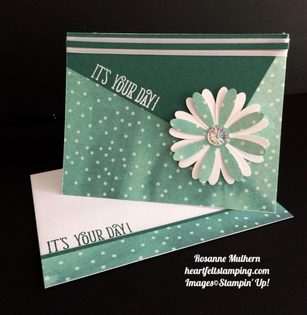 Stampin Up Daisy Delight Birthday Card - Rosanne Mulhern