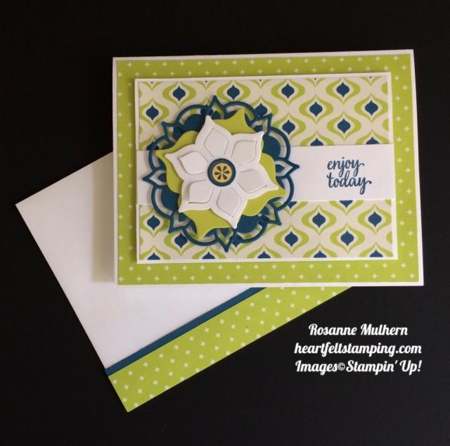 Stampin Up Eastern Palace Card Idea - Rosanne Mulhern