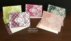 Stampin Up Label Me Pretty Thank You Notes - Rosanne Mulhern