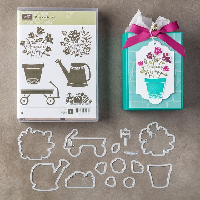 Grown With Love Bundle - Rosanne Mulhern stampinup