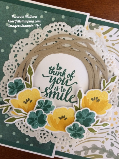 Stampin Up Jar of Love Just Because Cards Idea - Rosanne Mulhern