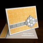 Stampin Up Eastern Medallion Birthday Card - Rosanne Mulhern stampinup
