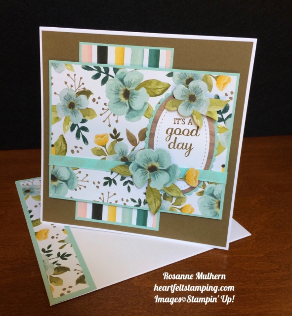 Stampin Up Whole Lot of Lovely and Best Birds Birthday Card - Rosanne Mulhern stampinup