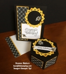 Stampin Up Eastern medallion and Window Box Birthday - Rosanne Mulhern stampinup