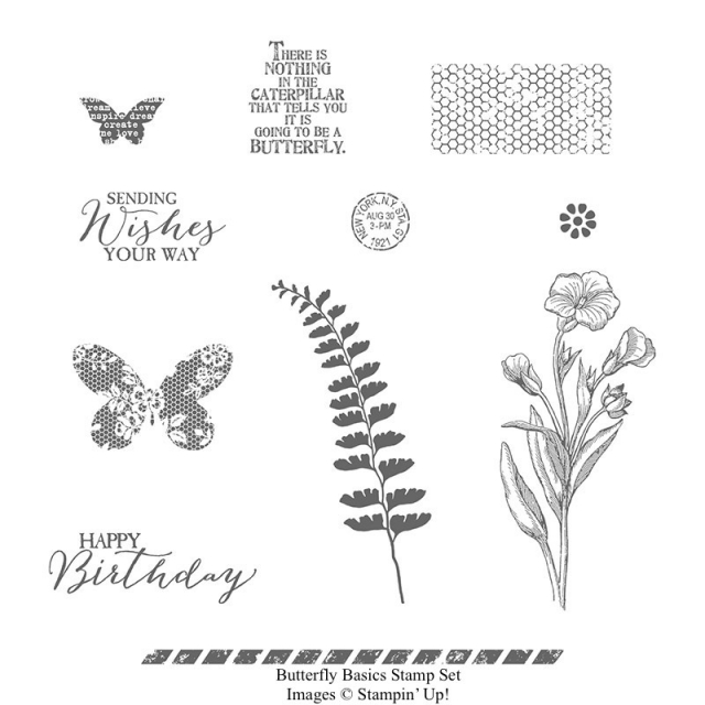 Butterfly Basics - Images © Stampin' Up!
