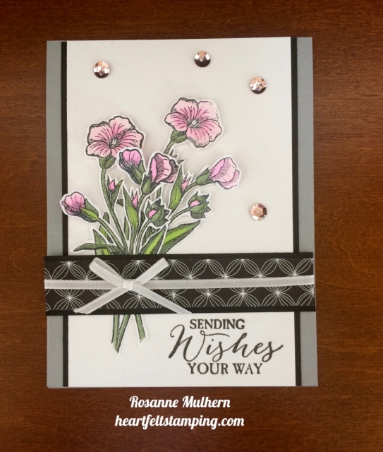 Stampin Up Butterfly Basics Birthday Cards Ideas - Rosanne Mulhern