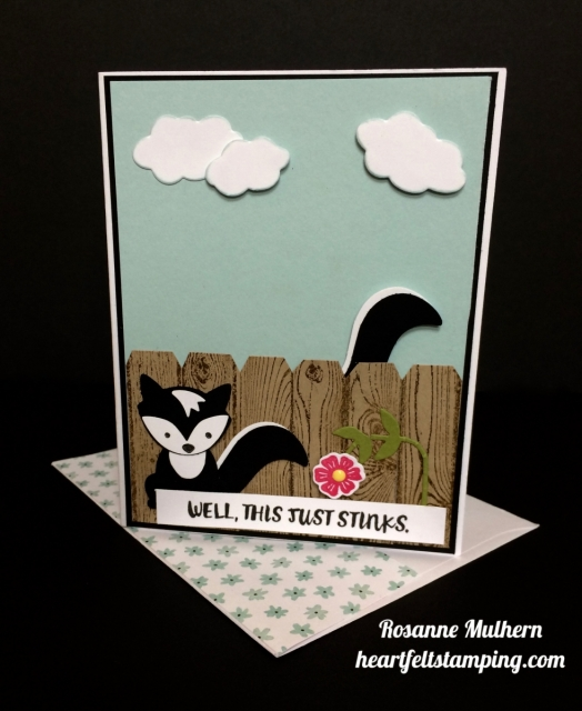 Stampin Up Fox Builder, Here for You Encouragement Cards - Rosanne Mulhern