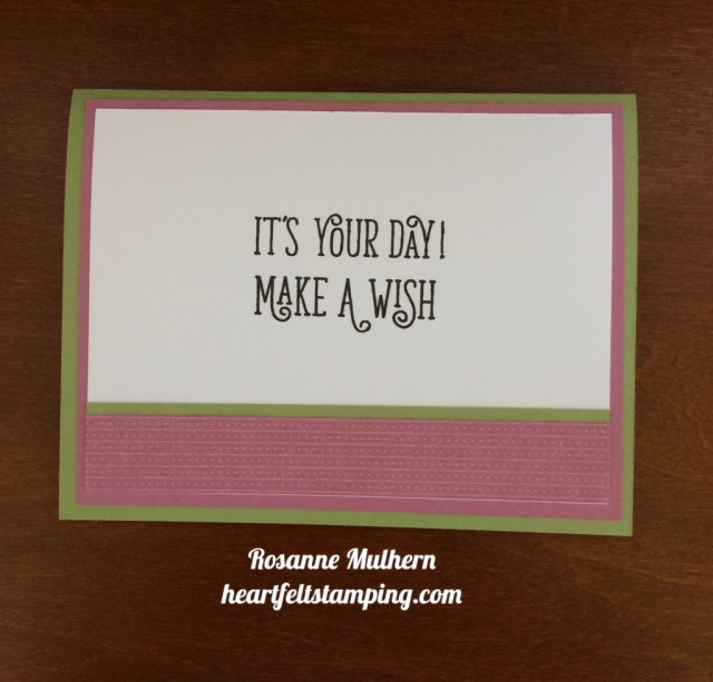 Watercolor Wings Birthday Card Ideas - Rosanne Mulhern stampinup