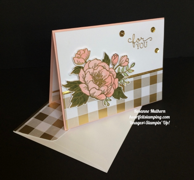 Stampin Up Birthday Blooms Birthday Cards - Rosanne Mulhern