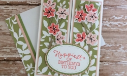 Stampin Up Colorful Seasons Gatefold Birthday Card - Rosanne Mulhern