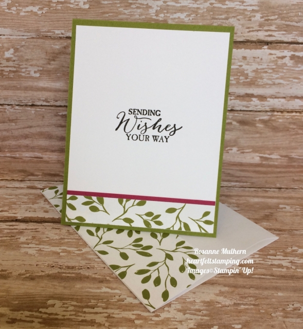 Stampin Up Oh So Eclectic Birthday Card Idea - Rosanne Mulhern