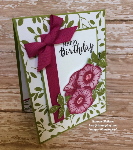 Stampin Up Oh So Eclectic Birthday Cards Idea - Rosanne Mulhern