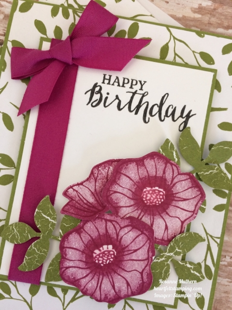 Stampin Up Oh So Eclectic Birthday Cards - Rosanne Mulhern
