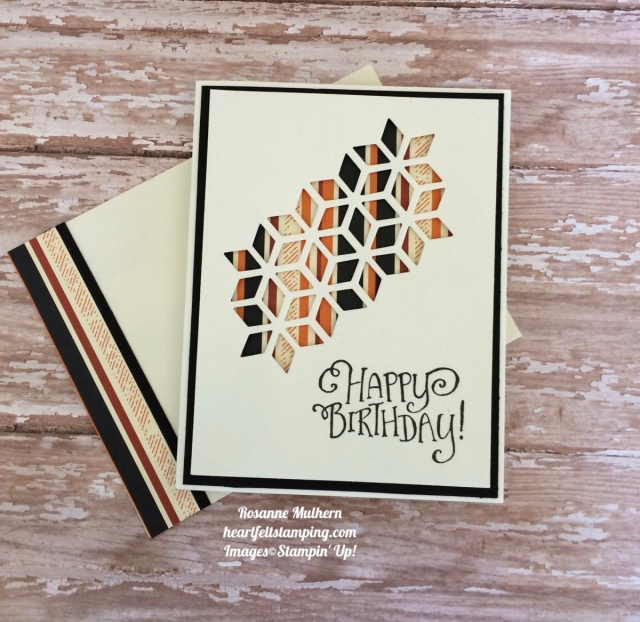 An Eclectic Masculine Birthday Heartfelt Stamping