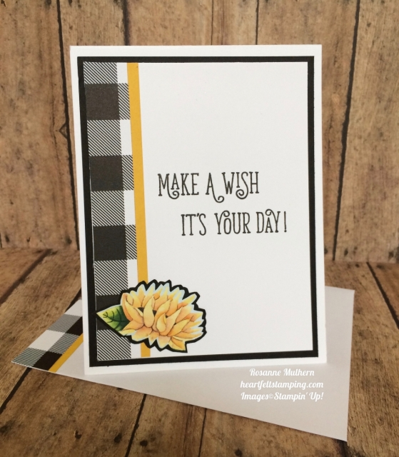 Stampin Up Painted Autumn Designer Series Paper and Happy Birthday Gorgeous Birthday Cards Ideas- Rosanne Mulhern
