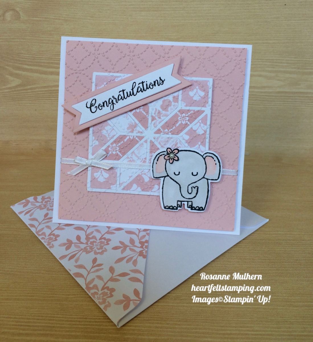 A Quilted Baby Card For TTTC#015