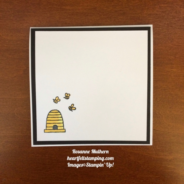 Stampin Up A Little Wild square cards ideas- Rosanne Mulhern