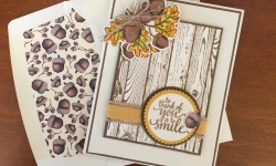 Stampin Up Count Your Blessings Friendship Card - Rosanne Mulhern