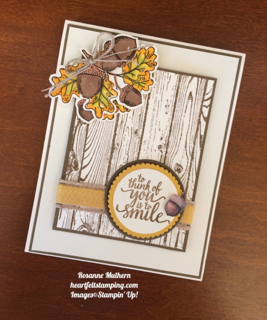 Stampin Up Count Your Blessings Friendship Cards - Rosanne Mulhern