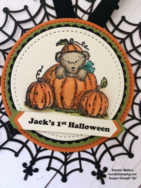 Stampin Up Halloween Tags - Rosanne Mulhern