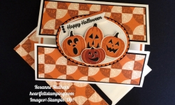 Stampin Up Spooky Night Halloween Card - Rosanne Mulhern
