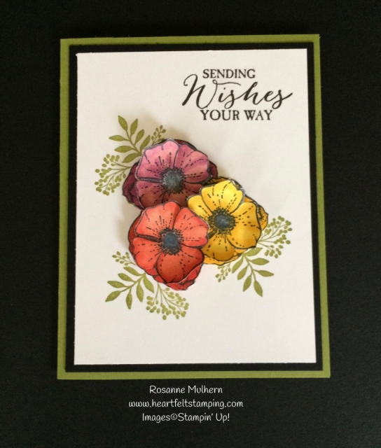 Stampin Up Amazing You Free Sale-a-bration Set Card - Rosanne Mulhern