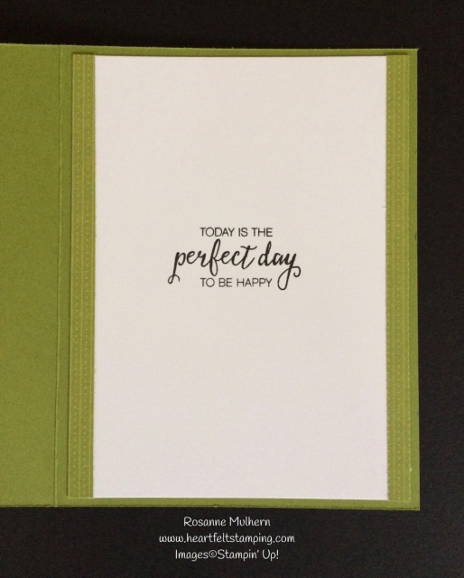 Stampin Up Amazing You Sale-a-bration Card - Rosanne Mulhern