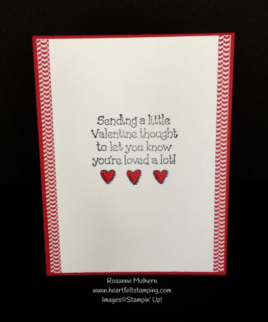stampin up bella and friends valentine card idea rosanne mulhern