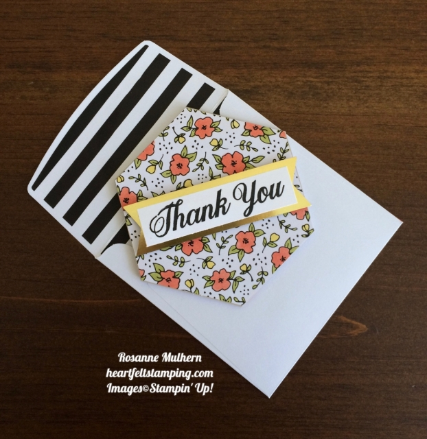 Stampin Up Lots of Happy Card Kit Thank You Notes-Rosanne Mulhern