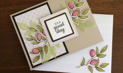 Stampin Up Lots of Happy Card Kits Birthday Card Idea - Rosanne Mulhern