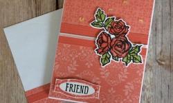 Stampin Up Petal Palette Friendship Cards - Rosanne Mulhern
