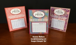 Stampin Up Sweet Soiree Calendars - Rosanne Mulhern