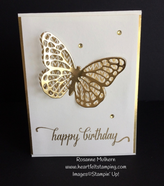 Bold Butterfly Birthday Card - Rosanne Mulhern