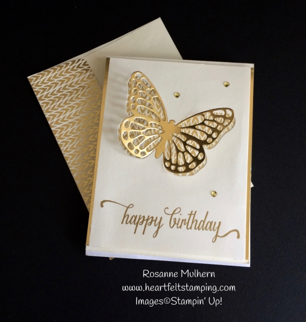 Bold Butterfly Birthday - Rosanne Mulhern