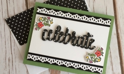 Stampin Up Celebrate You Birthday Card - Rosanne Mulhern