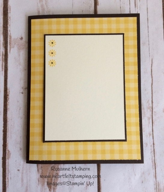 Stampin Up Daisy Delight Thinking of You Card - Rosanne Mulherng