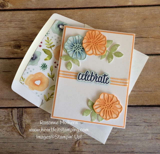 Stampin Up Oh Eclectic Birthday Card - Rosanne Mulhern