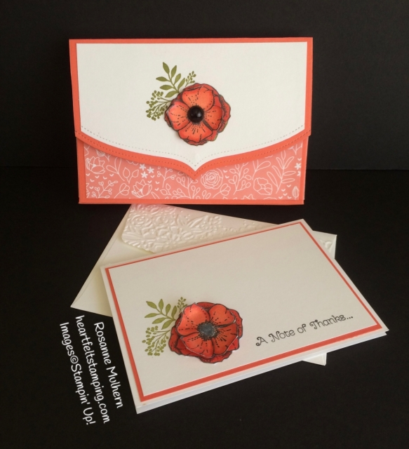 Stampin Up Amazing You Thank You Notes Sets - Rosanne Mulhern Heartfelt Stamping